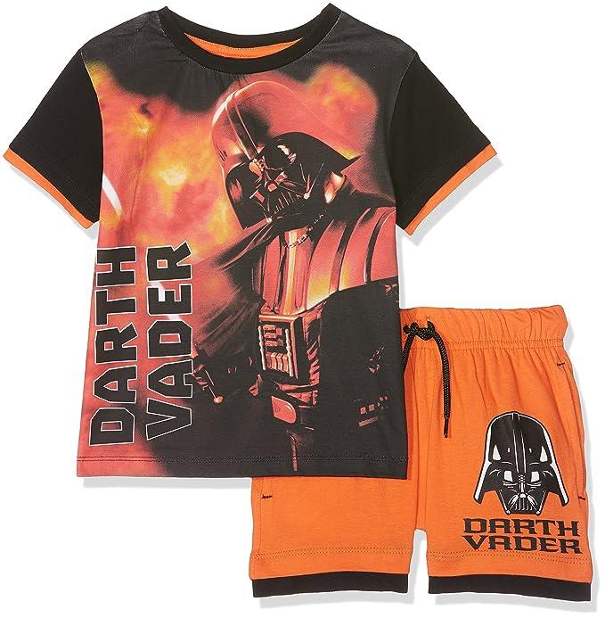 Star Wars Ropa Interior de Deporte para Niños, Naranja Orange, 3-4 Años