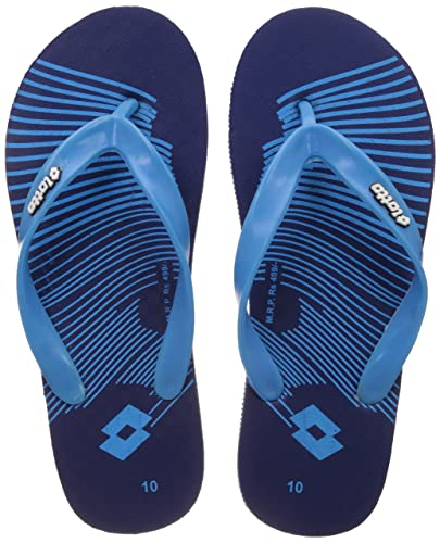 23b10cfe0 Lotto Men's Navy/Blue Hawaii House Slippers - 7 UK/India (41 EU ...