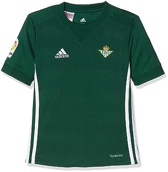 Adidas Real Betis Camiseta de Equipación, Niños, Verde (veruni), 140-9/10 años: Amazon.es: Deportes y aire libre