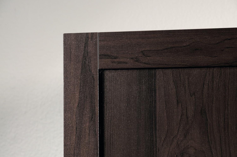 Sauder Kitchen Furniture Amazoncom Sauder Large Storage Cabinet Cinnamon Cherry Finish