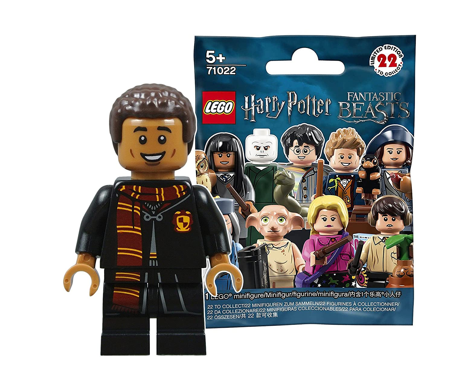 NEW No.7 LEGO Harry Potter Series Mini Figure Cho Chang 71022