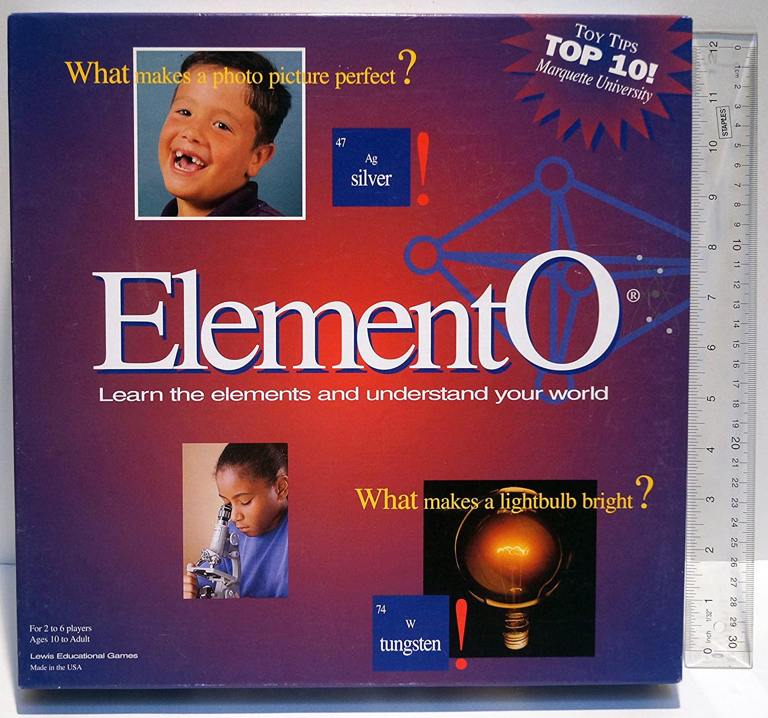 Amazon elemento game learn the periodic table toys games gamestrikefo Images