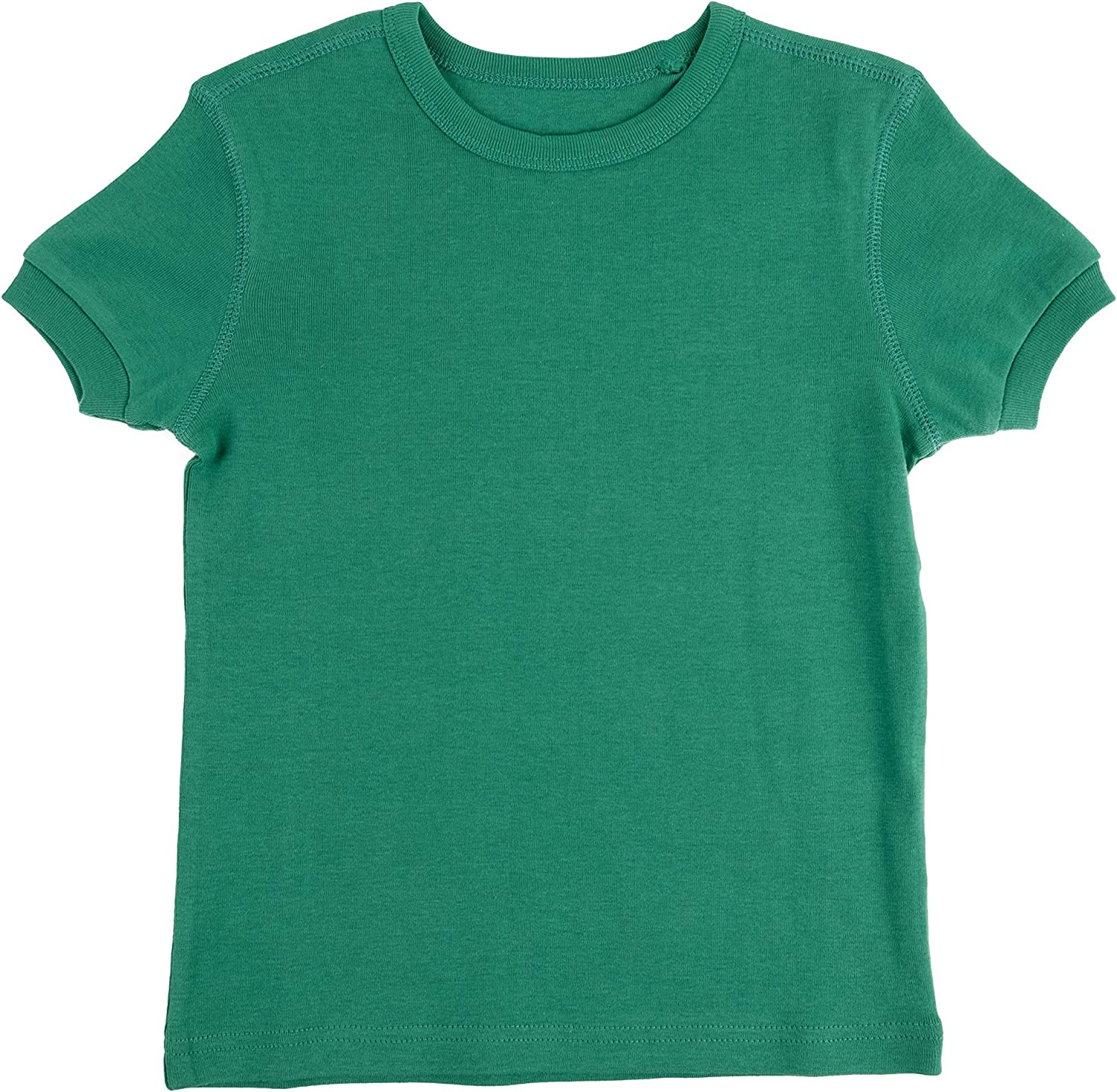 Variety of Colors Leveret Short Sleeve Boys Girls Kids /& Toddler T-Shirt 100/% Cotton 2-14 Years