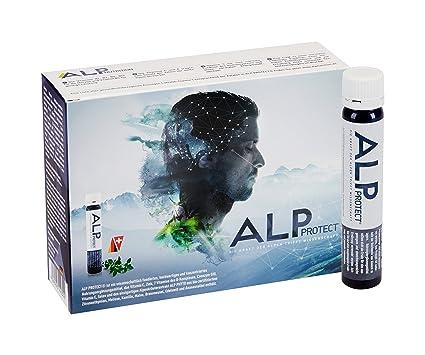 ALP PROTECT multi vitaminas 14x25 ml que apoyan el rendimiento mental sistema inmunológico de la salud