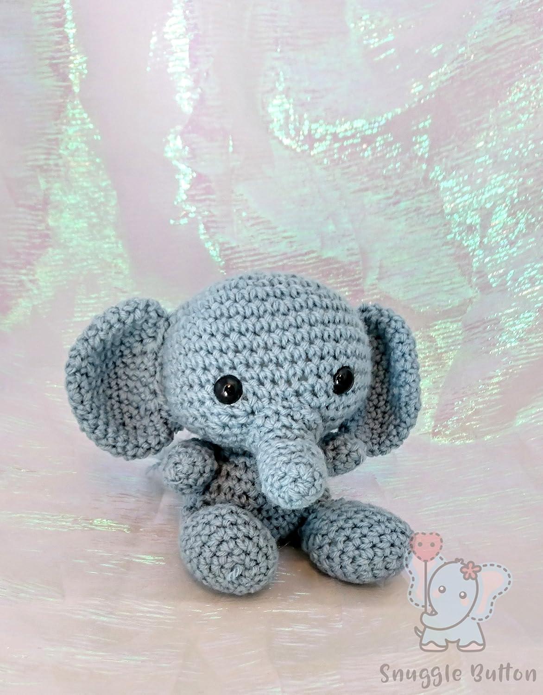 Amigurumi Elephant pattern by Viktorija Dineikiene | Amigurumi ... | 1500x1172