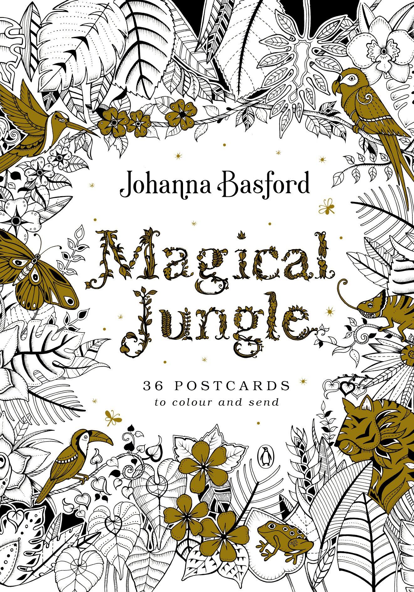 Magical Jungle: 36 Postcards to Colour and Send pdf epub