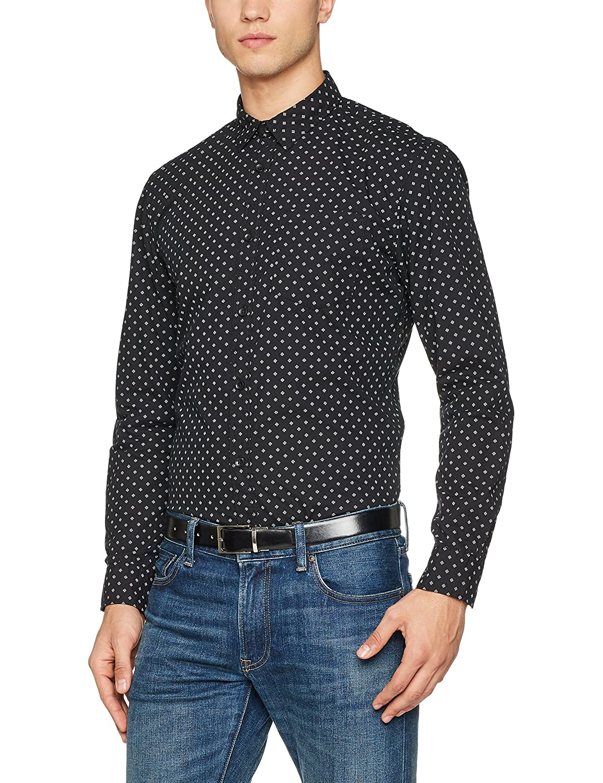 JACK & JONES Jorsimon Shirt LS Camisa para Hombre