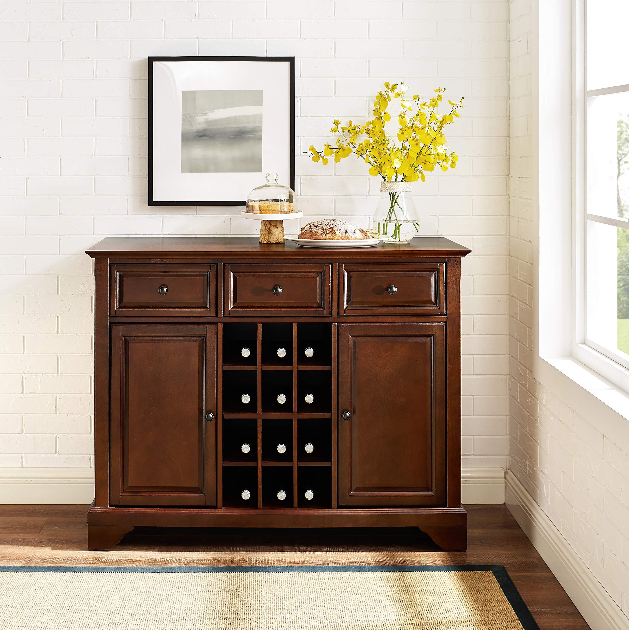 Crosley Furniture LaFayette Wine Buffet / Sideboard - Vintage Mahogany by Crosley Furniture (Image #3)