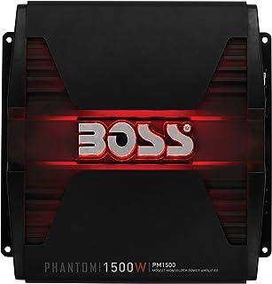 amazon com boss audio ph1500m phantom 1500 watt monoblock class a rh amazon com Bose Car Stereo Wiring Diagrams Sony Xplod Wiring Color Diagram