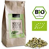 AQAYO Moringa Detox Tee   100% Bio-Moringa Oleifera   Getrocknete Moringa Blätter (90g Moringa Tee)