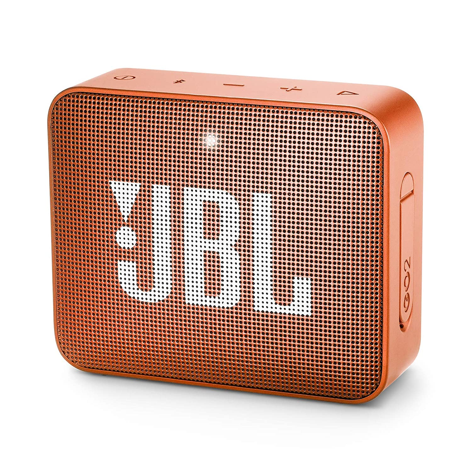 JBL GO 2 Portable Bluetooth Waterproof Speaker (Navy) JBLGO2NAVY