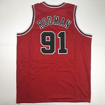 XXL Detroit Pistons #10 Dennis Rodman Basketball Jersey Blue Size S