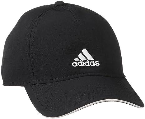 Adidas Women s Cap (CG1781-BLACK BLACK White-OSFM Black Black White OSFM)   Amazon.in  Clothing   Accessories 3e414fca0166