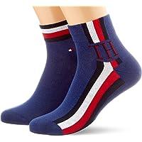 Tommy Hilfiger TH MEN QUARTER 2P ICONIC STRIPE heren sokken