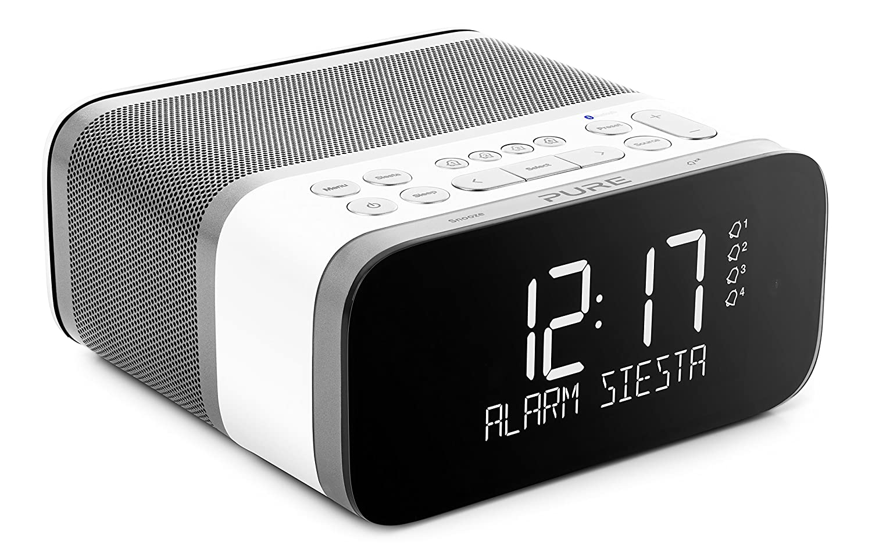 Portable Audio & Video Good Alarm Clock Fm Radio Support Dual Alarm Buzzer Snooze Sleep Function Compact Digital Red Led Time Display Clocks Am/fm Radio