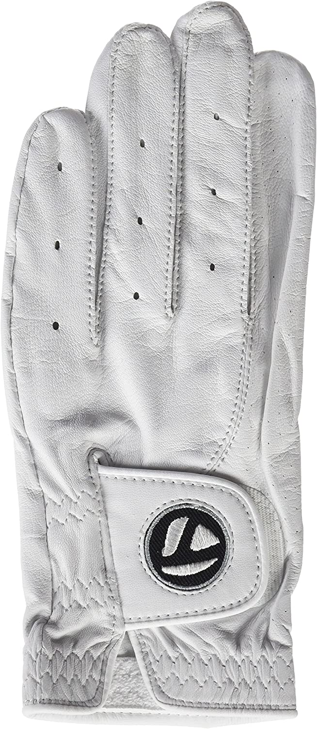 TaylorMade 2017 Tour Preferred Cabretta Soft Leather Mens Golf Gloves – Left Hand for The Right Handed Golfer