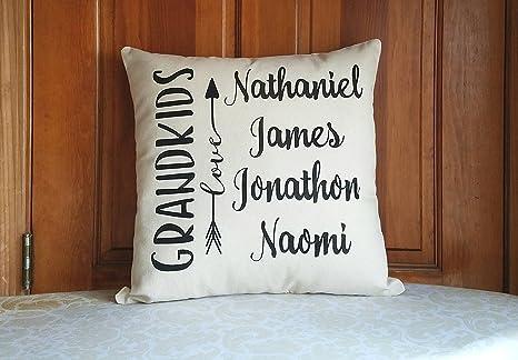 Amazon.com: Funda de almohada para nietos, regalos ...