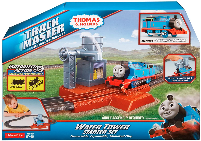 Fisher price thomas amp friends trackmaster treasure chase set new - Amazon Com Fisher Price Thomas Friends Trackmaster Water Tower Starter Set Toys Games
