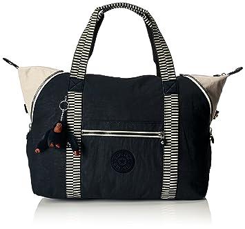 e86d60da78 Amazon.com | Kipling Art M, Medium Travel Tote, 58 cm, 26 liters, Blue  (True Navy Mix) | Travel Totes