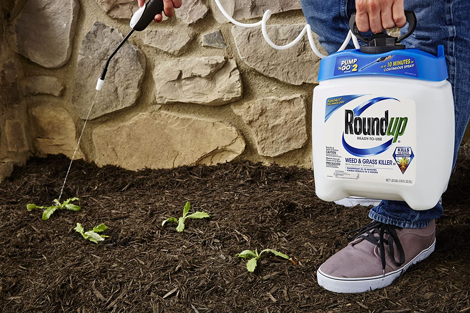 Amazon.com: Roundup 5100110 Weed and Grass Killer III Ready-to-Use ...