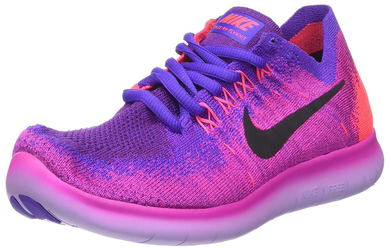 NIKE Women's Free RN Flyknit 2017 Running Shoe B06ZZ5PCTK 6 B(M) US|Pink