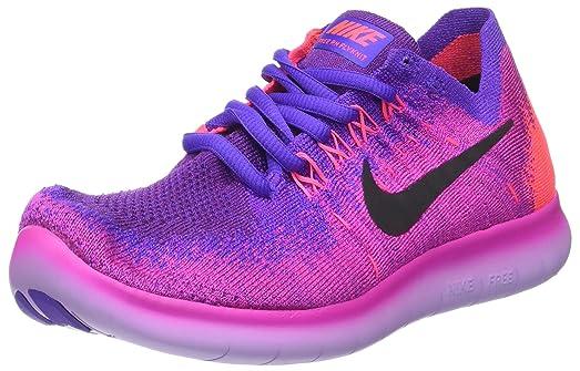 Amazon | NIKE Femme  Free RN Flyknit 2018 Running Shoe | Road