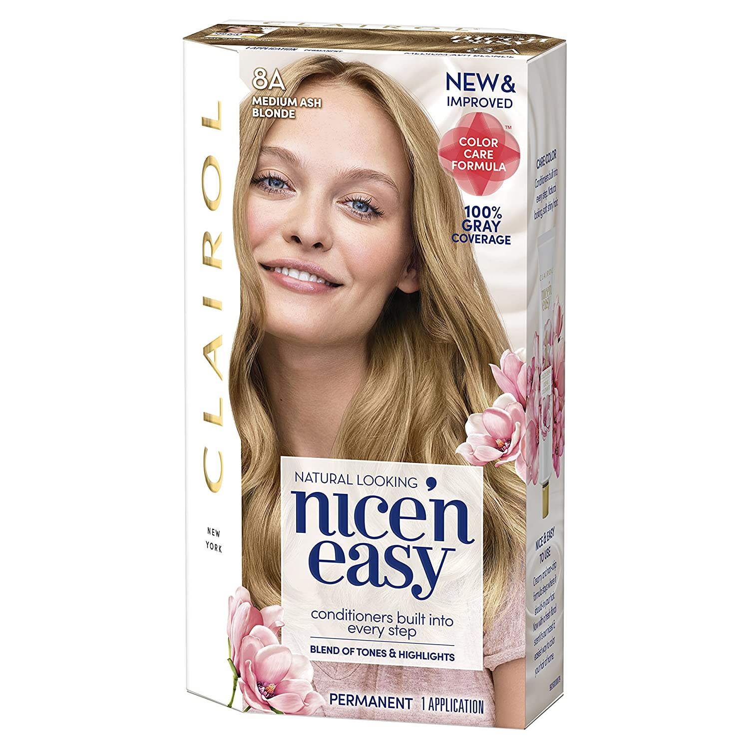 Amazon Clairol Nice N Easy Permanent Color 8a106 Medium Ash