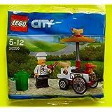 Lego, 30356, carretto dell'hot dog in sacchettino di plastica