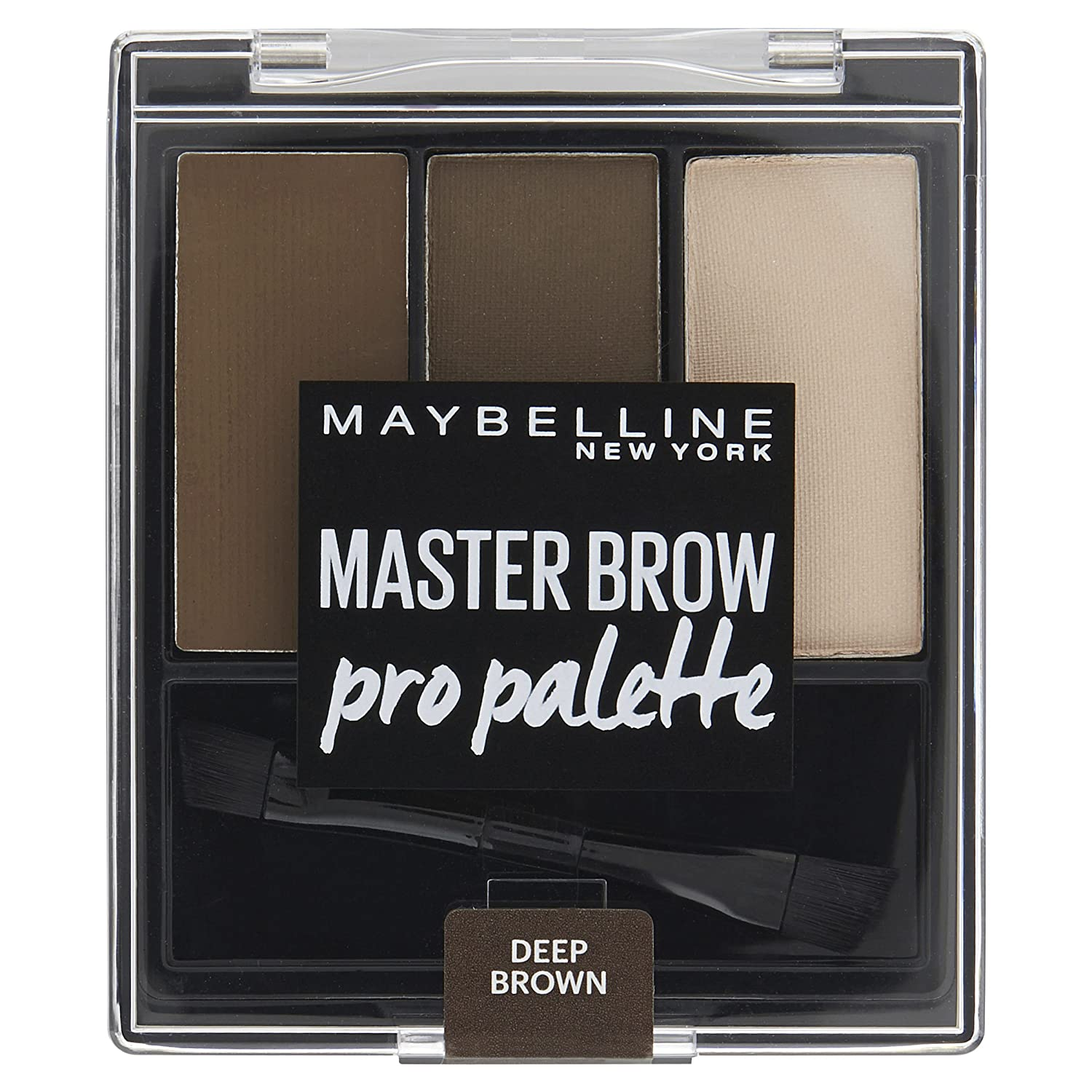 Maybelline Master Brow Pro Palette Kit Deep Brown 3.4g L' Oreal 3600531288778