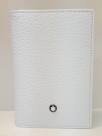 Montblanc leather goods meisterstuck selection business card holder montblanc leather goods meisterstuck selection business card holder white 110194 reheart Images