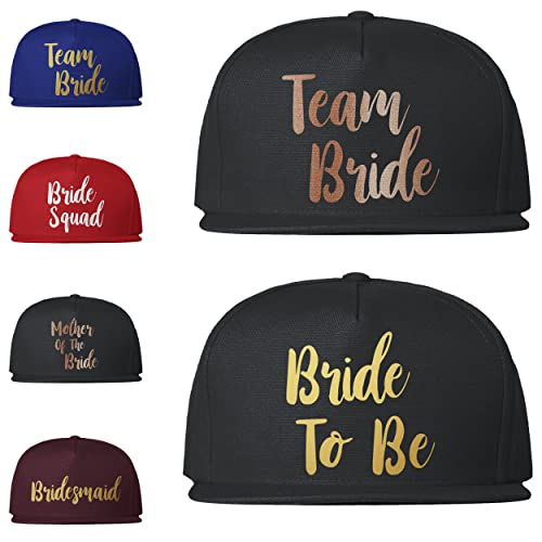 9ca80d683c3 Image Unavailable. Image not available for. Colour  Team Bride Caps  Baseball Snapback ...