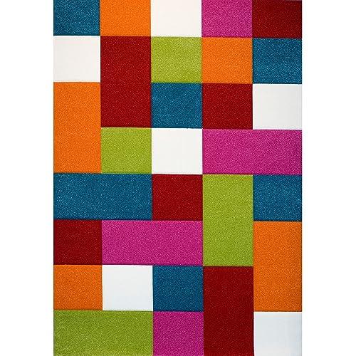 tapis salon multicolore. Black Bedroom Furniture Sets. Home Design Ideas