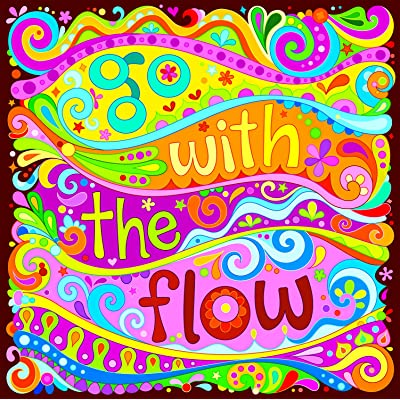 Ceaco - Go with the Flow Jigsaw Puzzle by Thaneeya McArdle – 550 Pieces: Toys & Games