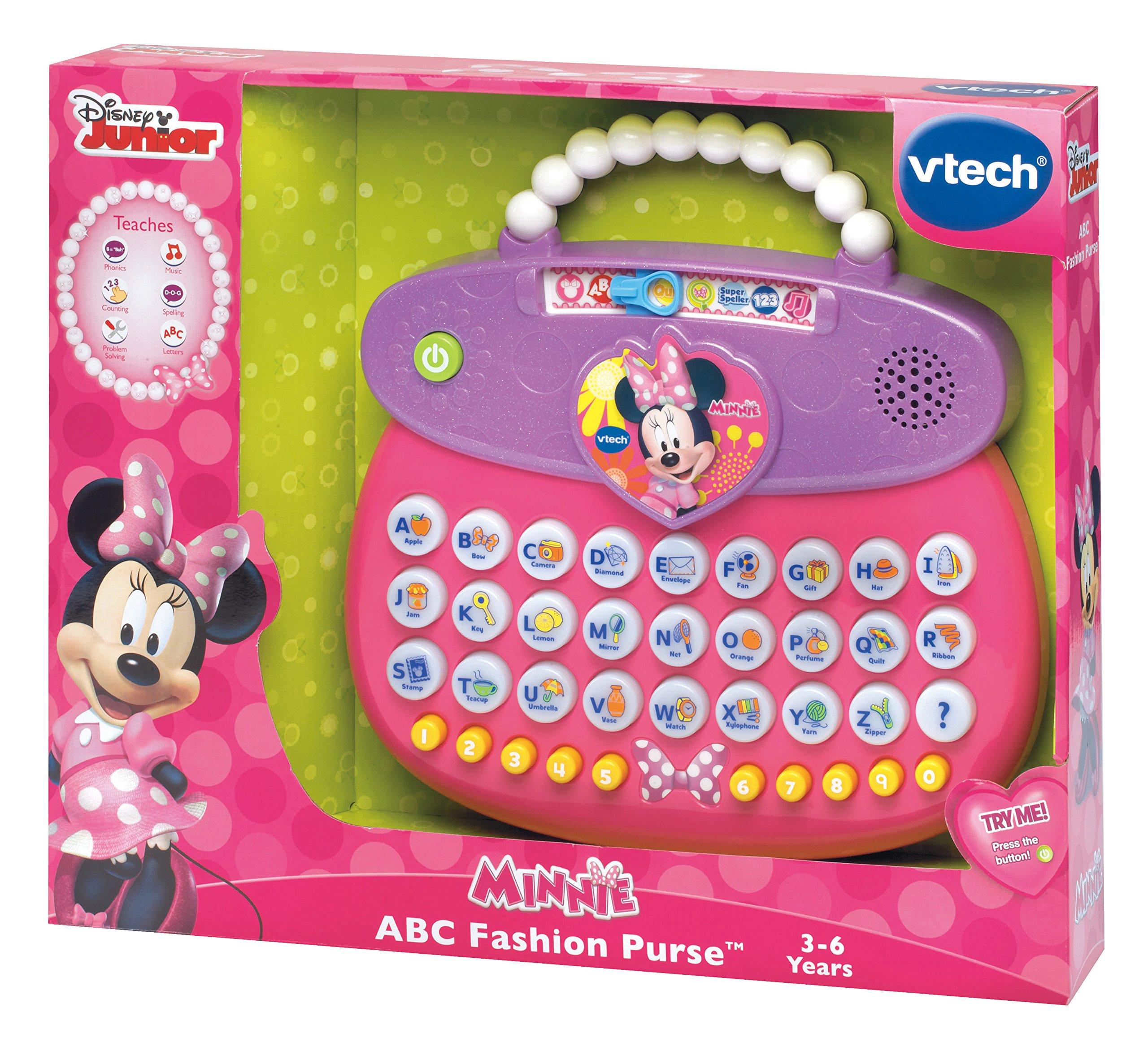 VTech Disney Minnie ABC Fashion Purse by VTech (Image #4)