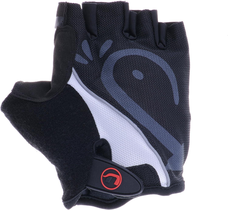 Unisex adulto con inserciones de gel//acolchado en la palma Ultrasport Advanced Guantes de ciclismo ajustable para fitness//entrenamiento presilla de ayuda malla en el dorso