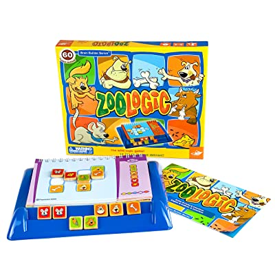 FoxMind Games Zoologic Logic Puzzle Game: Toys & Games