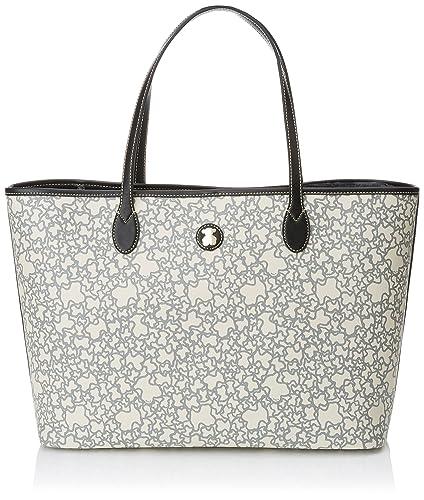 f6548365e Amazon.com: TOUS KAOS Mini Tote Bag Beige: Shoes