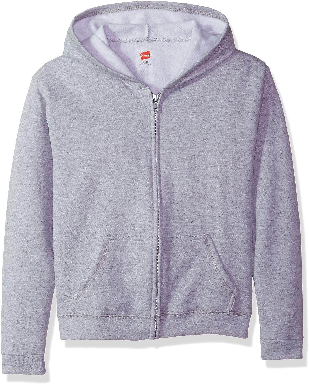 Hanes Big Girls ComfortSoft Ecosmart Full-Zip Fleece Hoodie