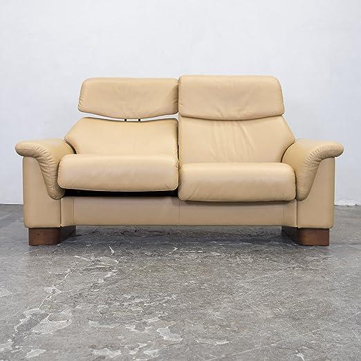 Stressless Spirit Designer Leder Sofa Zweisitzer Couch Relax ...
