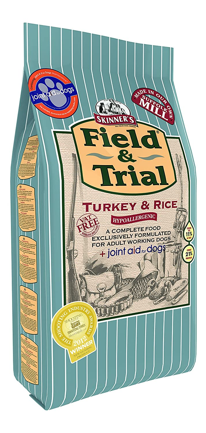 GroceryCentre Skinners Field and Trial Turkey and Rice + Joint Aid Dry Mix 15 kg
