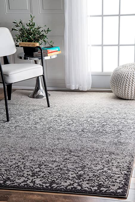 246619f8587 Amazon.com  nuLOOM Transitional Ombre Damask Area Rugs