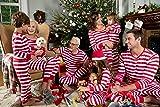 Leveret Kids Red & White Striped Baby Boys Girls