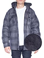 Amazon Com Dickies Men S Relaxed Fit Hooded Flannel