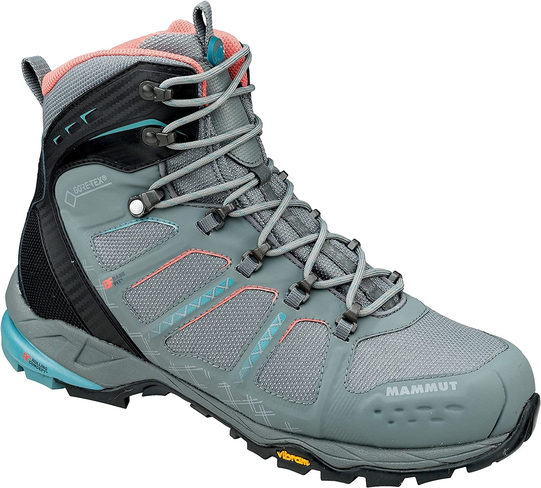 6.0 Mammut T Aenergy High GTX Boot Womens Grey//Dark Air