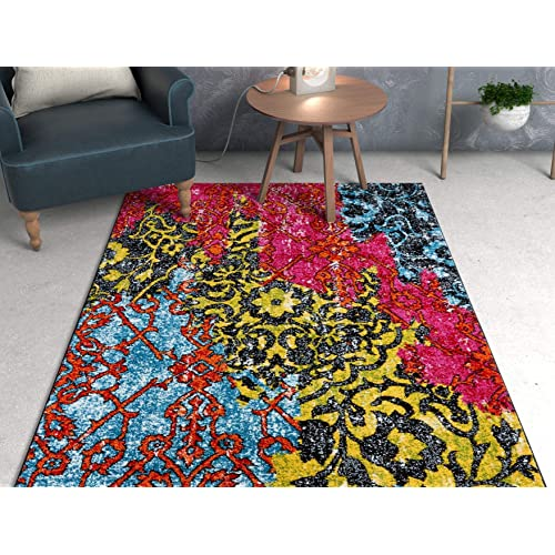 Bohemian Area Rugs Amazon Com
