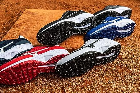 Mizuno Mens Dominant All Surface Low Turf Shoe Baseball ...