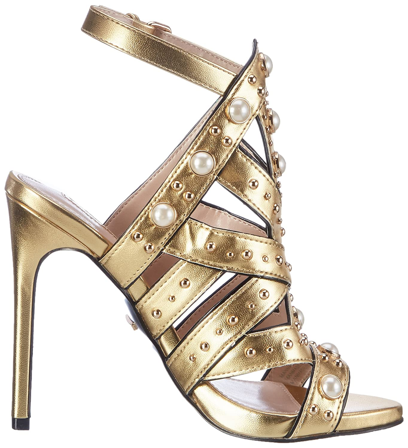 Carvela (CARU) Women's Goldie Np Open-Toe Heels: Amazon.co.uk: Shoes & Bags