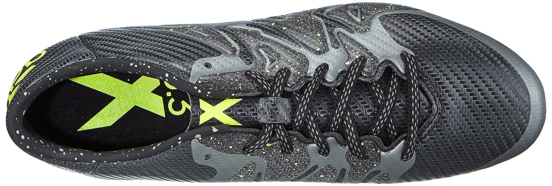 Adidas X 15.3 FG/AG Herren Fußballschuhe Schwarz (Core Black/Solar Yellow/Night Met. F13)