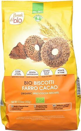Probios Break&Bio Galletas de Espelta con Cacao - 10 paquetes ...