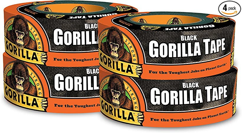 "Gorilla Duct Tape No Tax 1.88/"" x 30 yd. Free Ship . White"